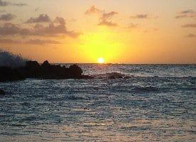 An Ocean-Sunset