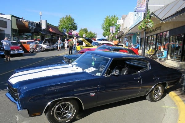 photo of Comox Valley car show
