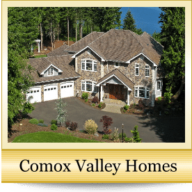 photo of a home in the Comox Valley