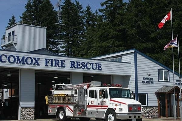 photo of Comox Fire Station
